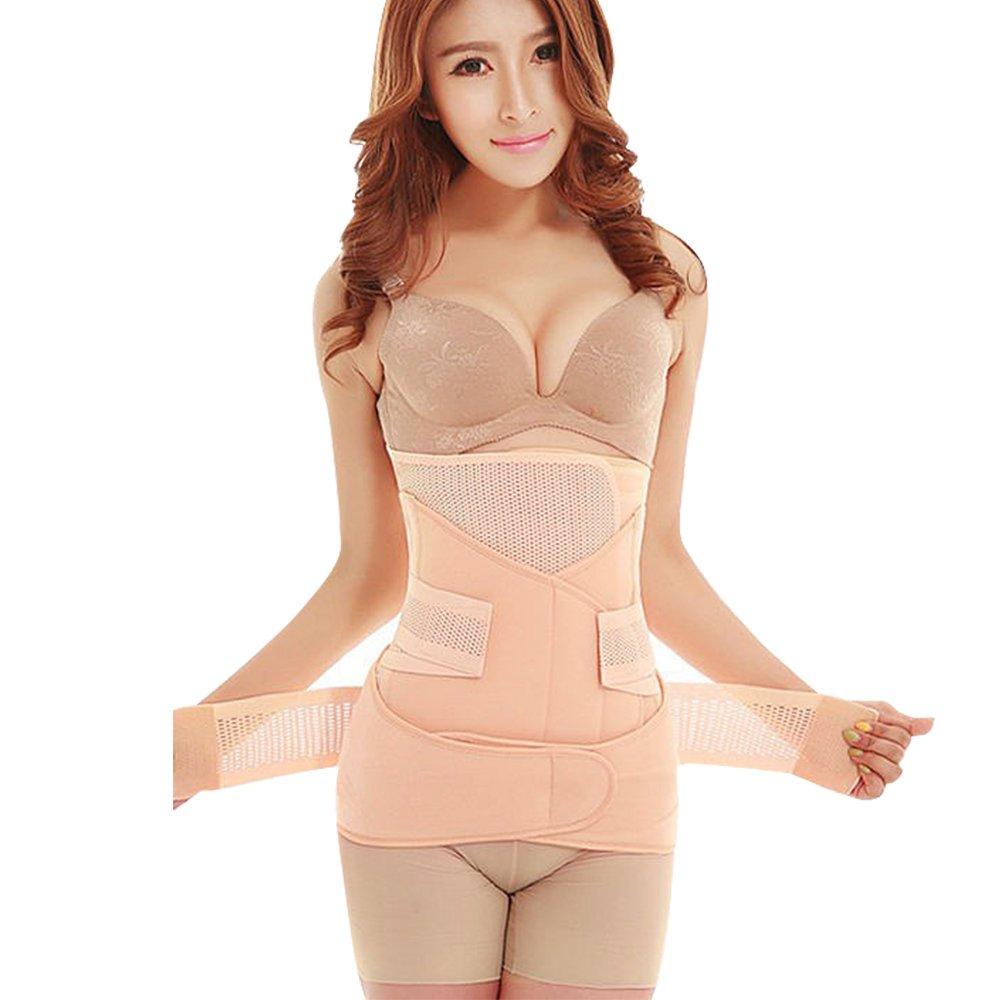 10d0e5bb33 Amazon.com  SUNVENO 3 in 1 Adjustable Maternity Postpartum Belt Shaper Post  Pregnancy Postnatal Recovery Belly Support Wrap Band Girdle Belts (M)   Health ...