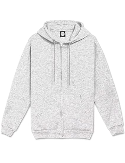 734f9f5b28207 JC DISTRO Mens Hipster Hip Hop Basic Unisex Zip-Up Hoodie Jacket (Size Upto  5XL Big Size)