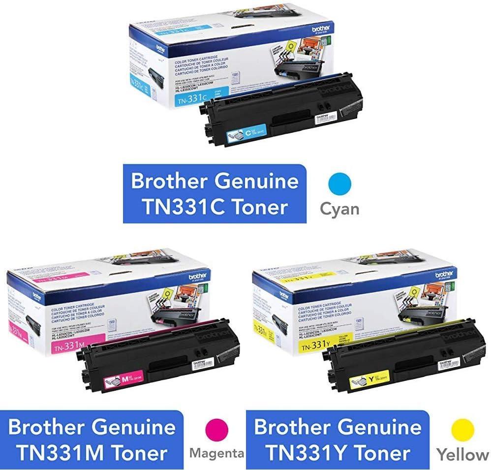 HL-L8350CDW TN331C TN331Y TN331M TONER SET HL-L8250CDN Genuine Brother TN336BK
