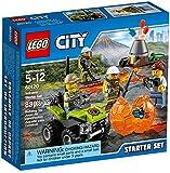 LEGO City - 60120 - Ensemble De Démarrage Du Volcan