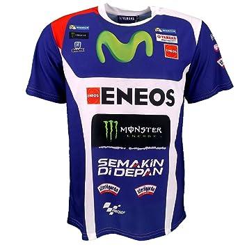 Jorge Lorenzo 99 MotoGP Yamaha Monster patrocinador equipo camiseta oficial 2016: Amazon.es: Deportes y aire libre