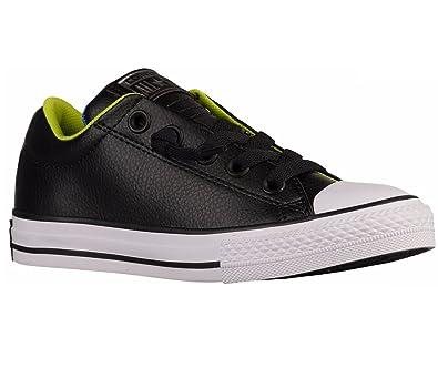 74473bbe7b4 Converse Junior CTAS Street Slip 654325C Sneakers Black UK 1