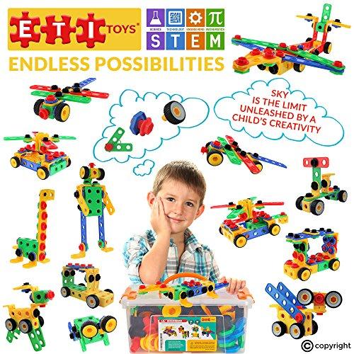 Детский конструктор ETI Toys   STEM