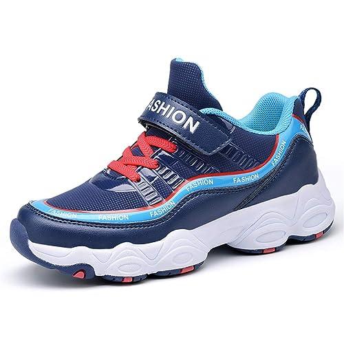 Zapatos para Correr para niños Zapatillas Deportivas para niños Moda para niñas Blanco Negro Púrpura Zapatos para Correr Zapatillas Ligeras para niños: ...