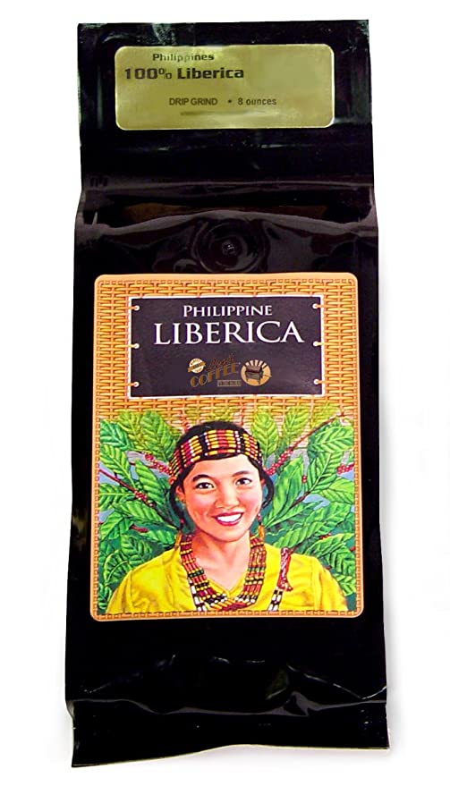Philippine Liberica Whole Bean Coffee, 8 Ounce