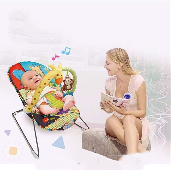 ZGQP Bǎby Music Sedia a Dondolo elettrica, Tǒys for Bambini