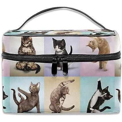 Gatos de Yoga Kitty Lindo Almacenamiento Grande Caja de ...