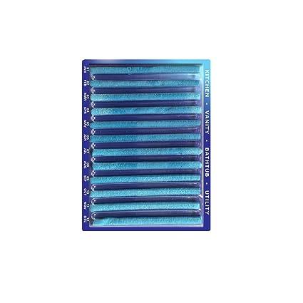 liebhome Sani Sticks/Drain Sticks abfuss limpiador Varillas/mantiene desagüe tubos limpio y libre
