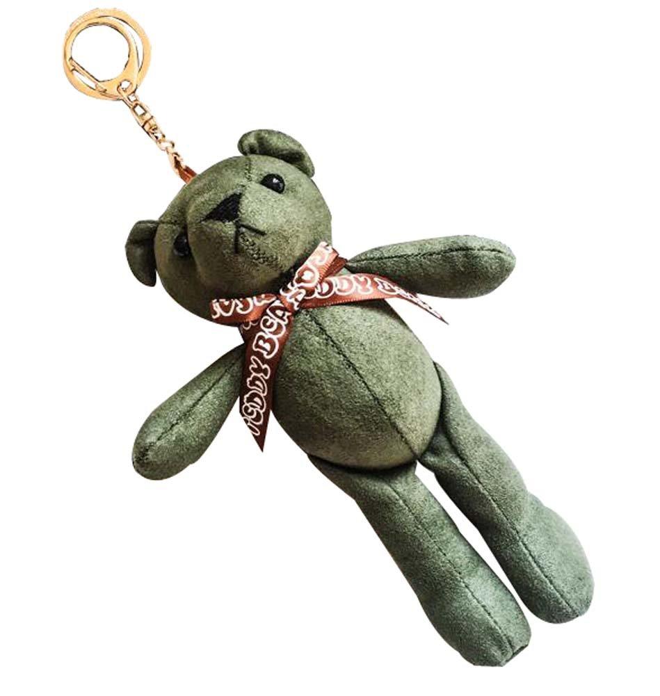 1 Piece Lovely Keyring Creative Bear Keychain Bag Pendant Beautiful Gift Blancho Bedding