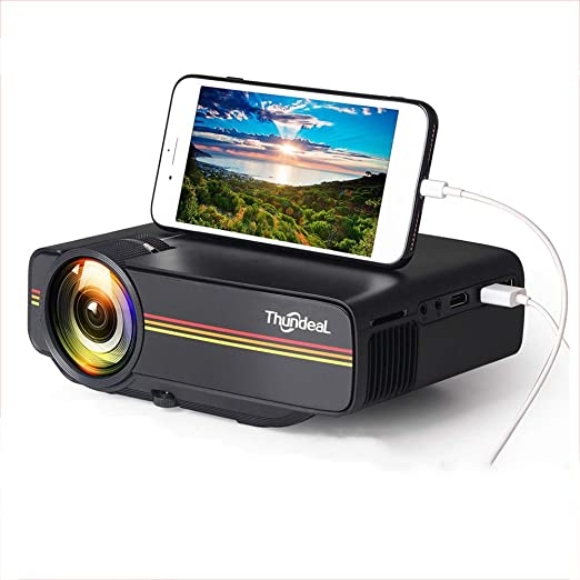 MaiTian Proyector, Mini proyector Yg410 1800 Lumen Pantalla de ...