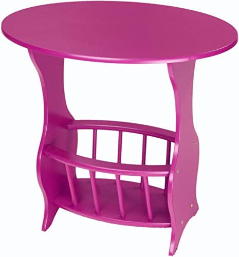 Frenchi Home Furnishing Magazine Table, Purple