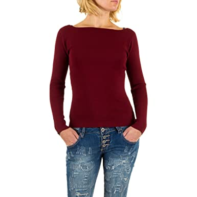 differently f81f0 b9149 Damen Pullover Pulli Sweatshirt Shirt Fein Strickpullover ...