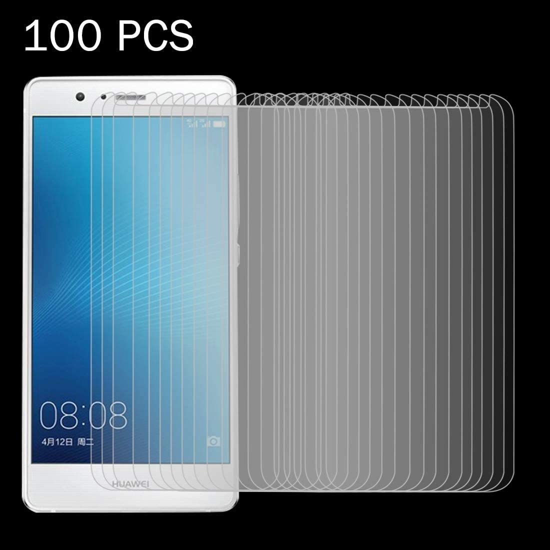 Wangl Mobile Phone Tempered Glass Film 100 PCS for Huawei G9 Plus 0.26mm 9H Surface Hardness Explosion-Proof Non-Full Screen Tempered Glass Screen Film Tempered Glass Film