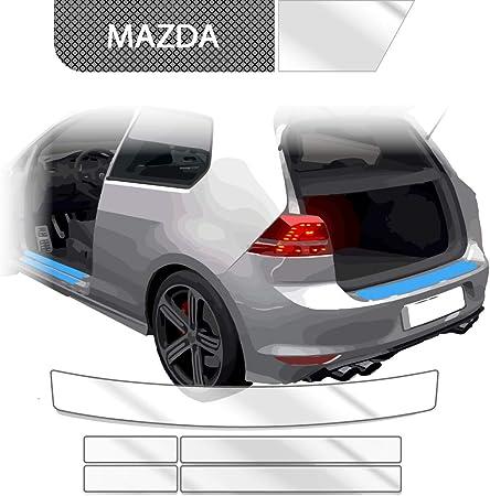 Blackshell Ladekantenschutz Einstiegsleisten Set Inkl Premium Rakel Für Cx 5 Gen 2 Kf Ab 2017 Transparent Passgenaue Lackschutzfolie Auto Schutzfolie Auto