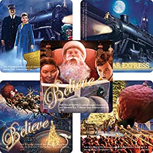 Smile Makers The Polar Express Stickers - Prizes and Giveaways - 100 per Pack