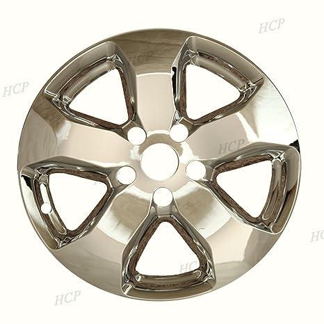 """Cromado 18 """"tapa de buje rueda Skins para Jeep Grand Cherokee ..."""