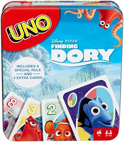Mattel Games UNO Disney Pixar Finding Dory Card Game ()