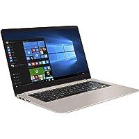 "ASUS Vivo Book S510UA-BR686T - Ordenador Portátil de 15.6"" HD (Intel Core i5-8250U, 8 GB RAM, 256 GB SSD, Intel UHD Graphics 620 , Windows 10 Home) Dorado - Teclado QWERTY Español"