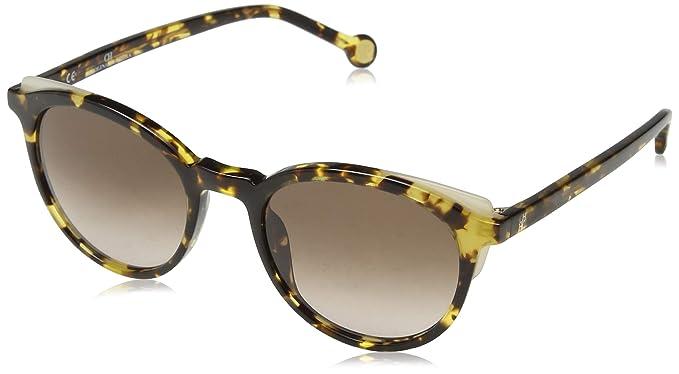 Carolina Herrera Mujer SHE742 Gafas de sol, Marrón (Shiny ...