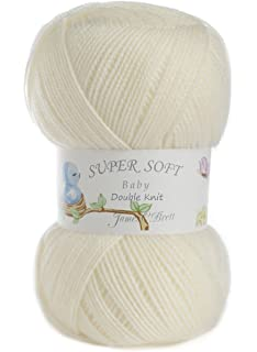 James Brett Twinkle Baby Dk Double Knitting Wool Super Soft Glitter
