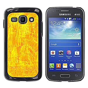 MOBMART Carcasa Funda Case Cover Armor Shell PARA Samsung Galaxy Ace 3 - Shiny Yellow Design