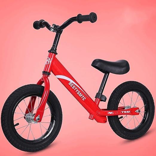 LLF Bicicleta Sin Pedales Niños Bicicleta De Equilibrio For 2-6 ...