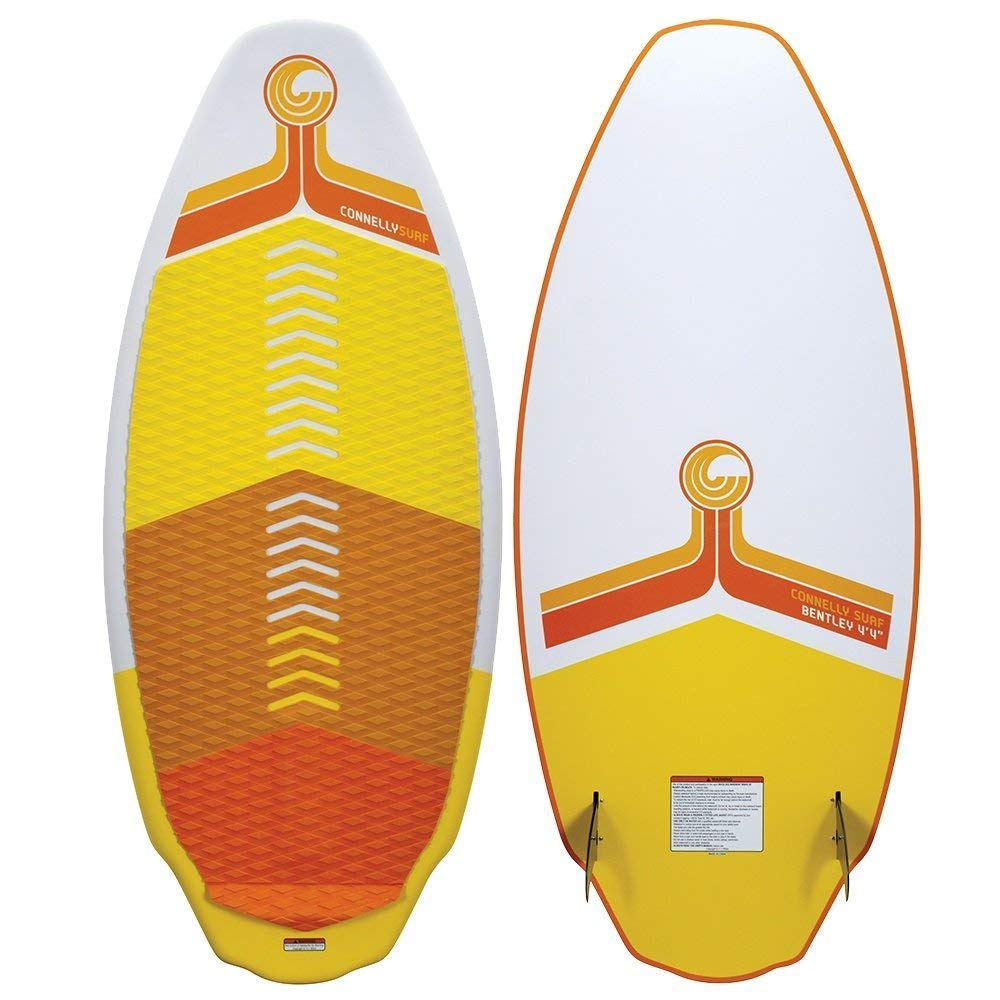 CWB Connelly Bentley Wakesurf Board 4'9'', Hybrid Shape w/Twin Fins by CWB