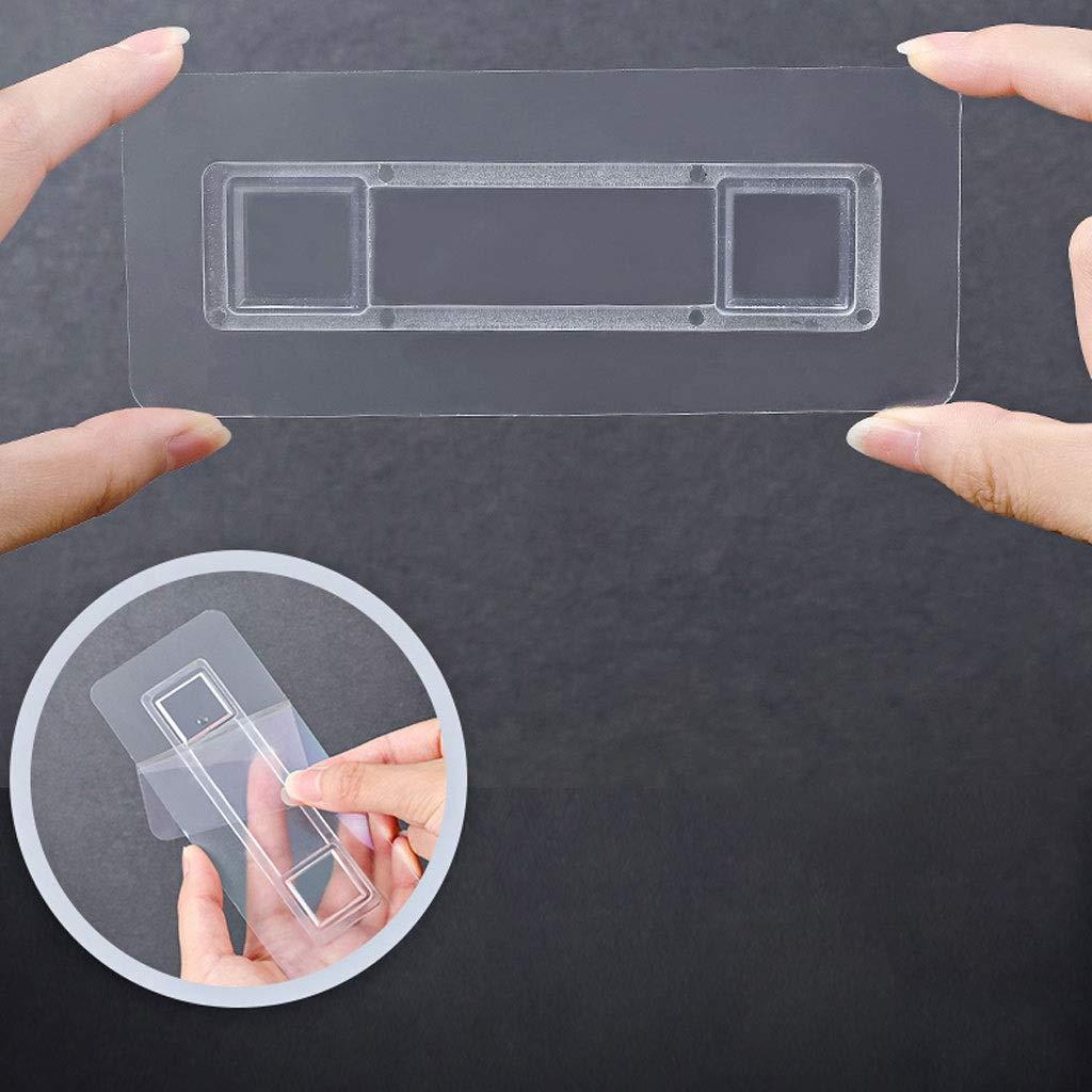 Bathroom Toilet Paper Holder Free Punching Tissue Box Waterproof Roll Holder for Bath /& Kitchen Grey