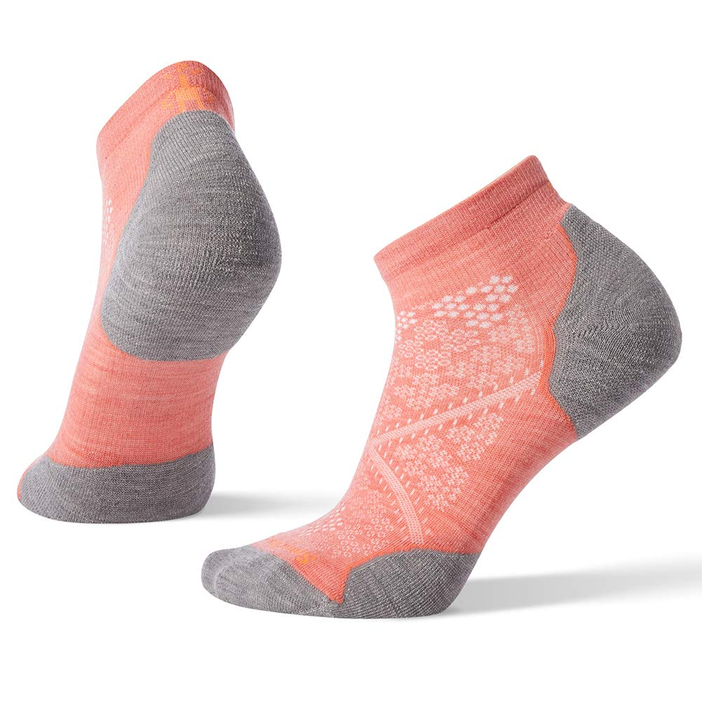 Smartwool Women's PhD¿ Run Light Elite Low Cut Bright Coral Small by SmartWool (Image #1)