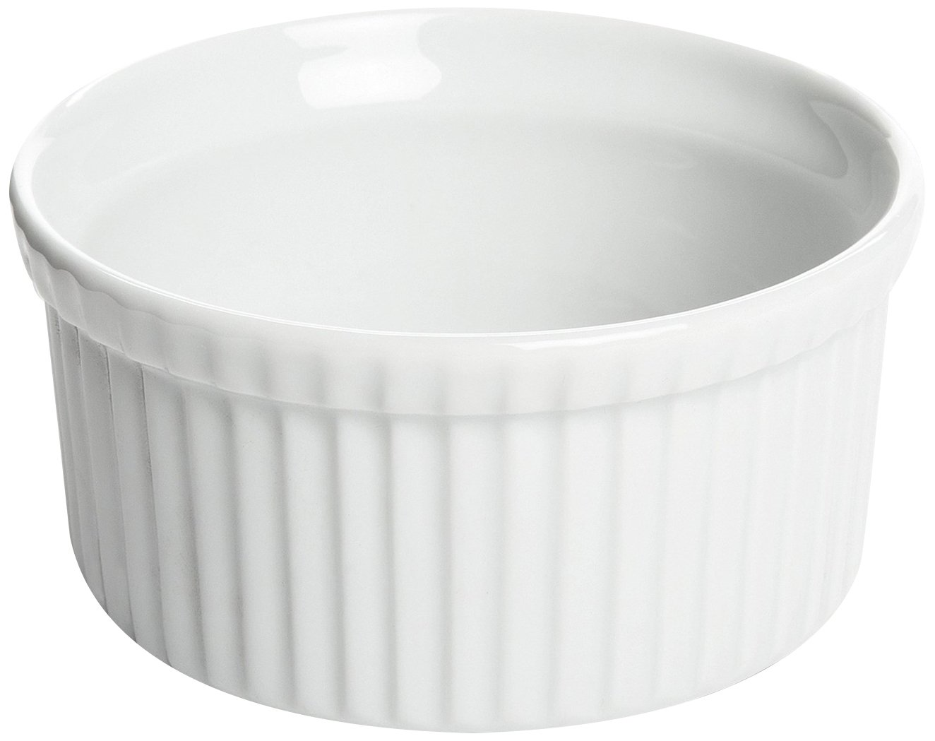 Fox Run 3908 Souffle Dish, 16-Ounce (White) 3908COM