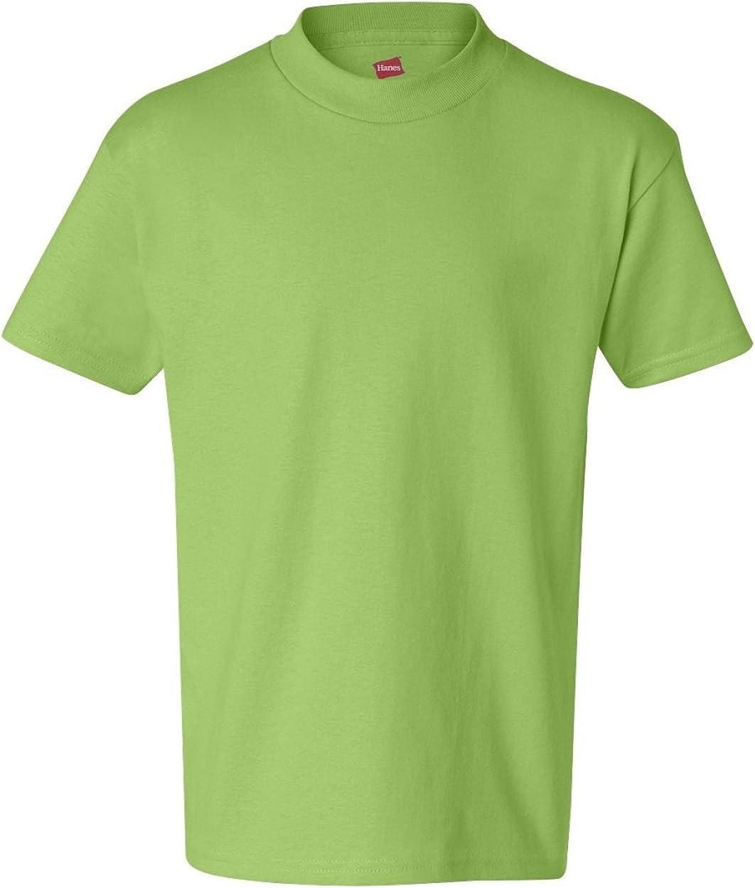 Hanes - Tagless Youth T-Shirt - 5450: Clothing