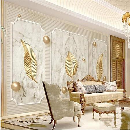 Zjxxm Wallpapers Photo Custom Photo Luxury 3d Wall Murals Golden