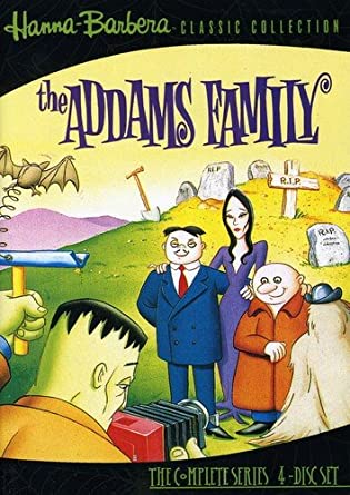 the addams family (1992 animated series) dvd