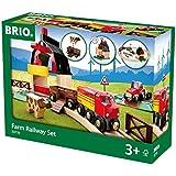 Schylling Brio Farm Railway Set