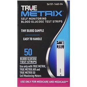 Amazon com: TRUEmetrix Air Bluetooth Blood Glucose Meter