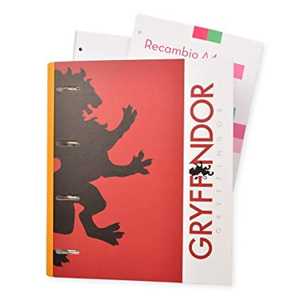 Grupo Erik Editores CBK0009 - Carpeblock con 4 anillas Harry Potter, 32 x 27.5 cm