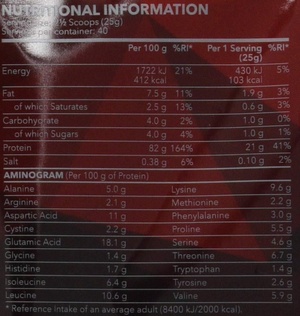 Prozis 100% Real Whey Protein 1000 g: Suplemento puro en polvo. Disfruta del batido con sabor a Natural más delicioso del mercado. Con un perfil completo de ...