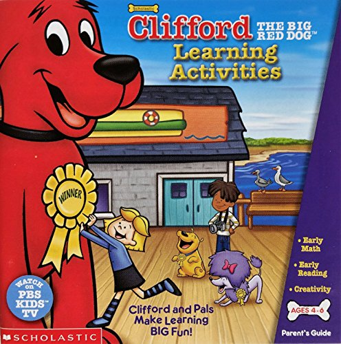 Price comparison product image Clifford The Big Red Dog Learning Activities
