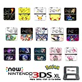 Ci-Yu-Online VINYL SKIN [new 3DS XL] - Pokemon Ash Ketchum Pikachu Greninja - Limited Edition STICKER DECAL COVER for NEW Nintendo 3DS XL / LL Console System