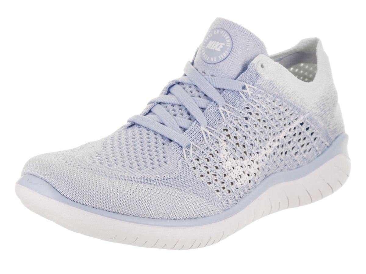 Nike Women's Free Rn Flyknit 2018 Running Shoe 8 Blue