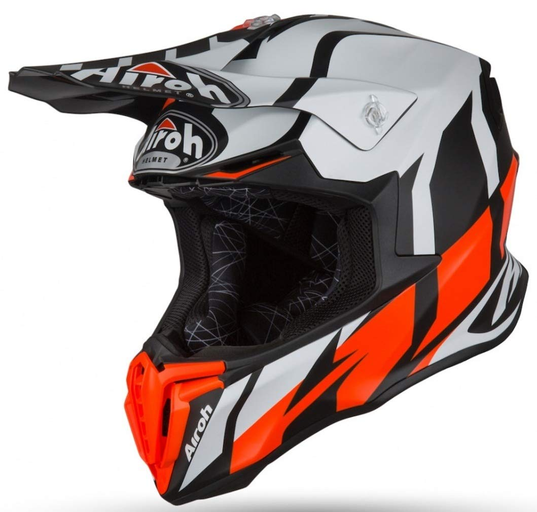 Airoh TW/_GR32/_L Cascos Orange Matt L
