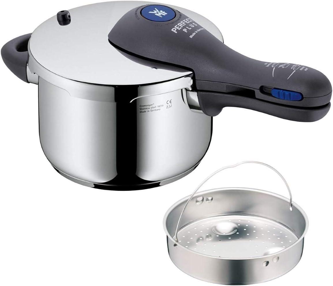 WMF Perfect Plus - Olla rápida, Ø18cm, 2.5 litros (manual en castellano con tabla de cocción y servicios técnicos): Amazon.es: Hogar