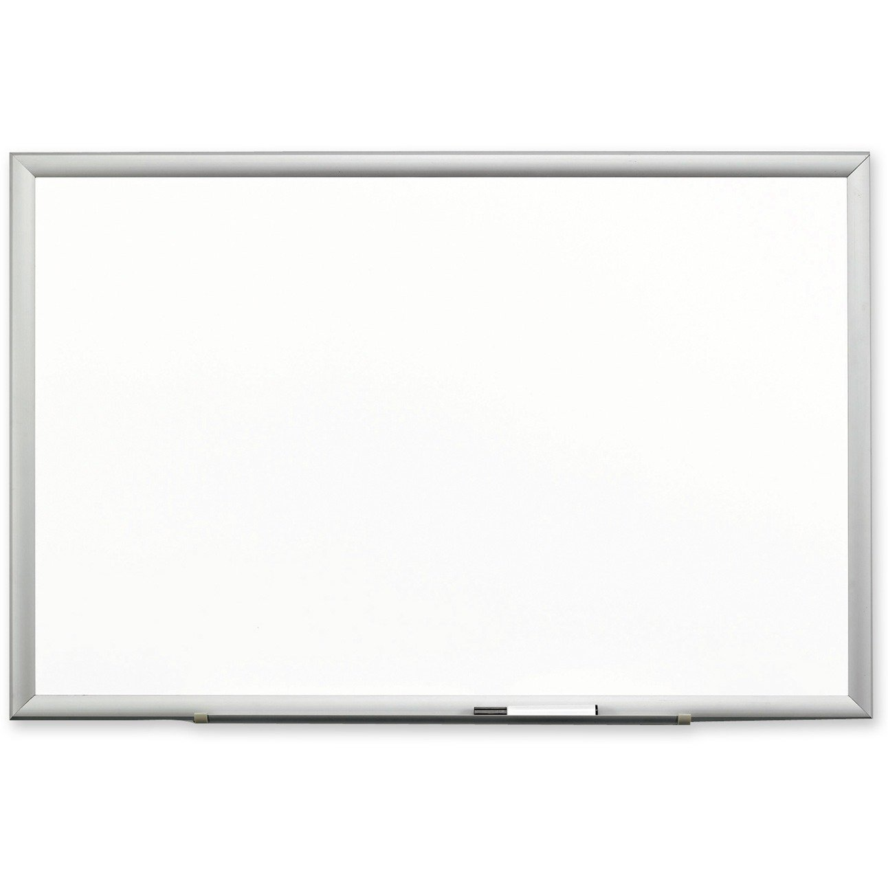 3M Porcelain Dry Erase Board, 72 x 48 Inches, Aluminum Frame (DEP7248A)