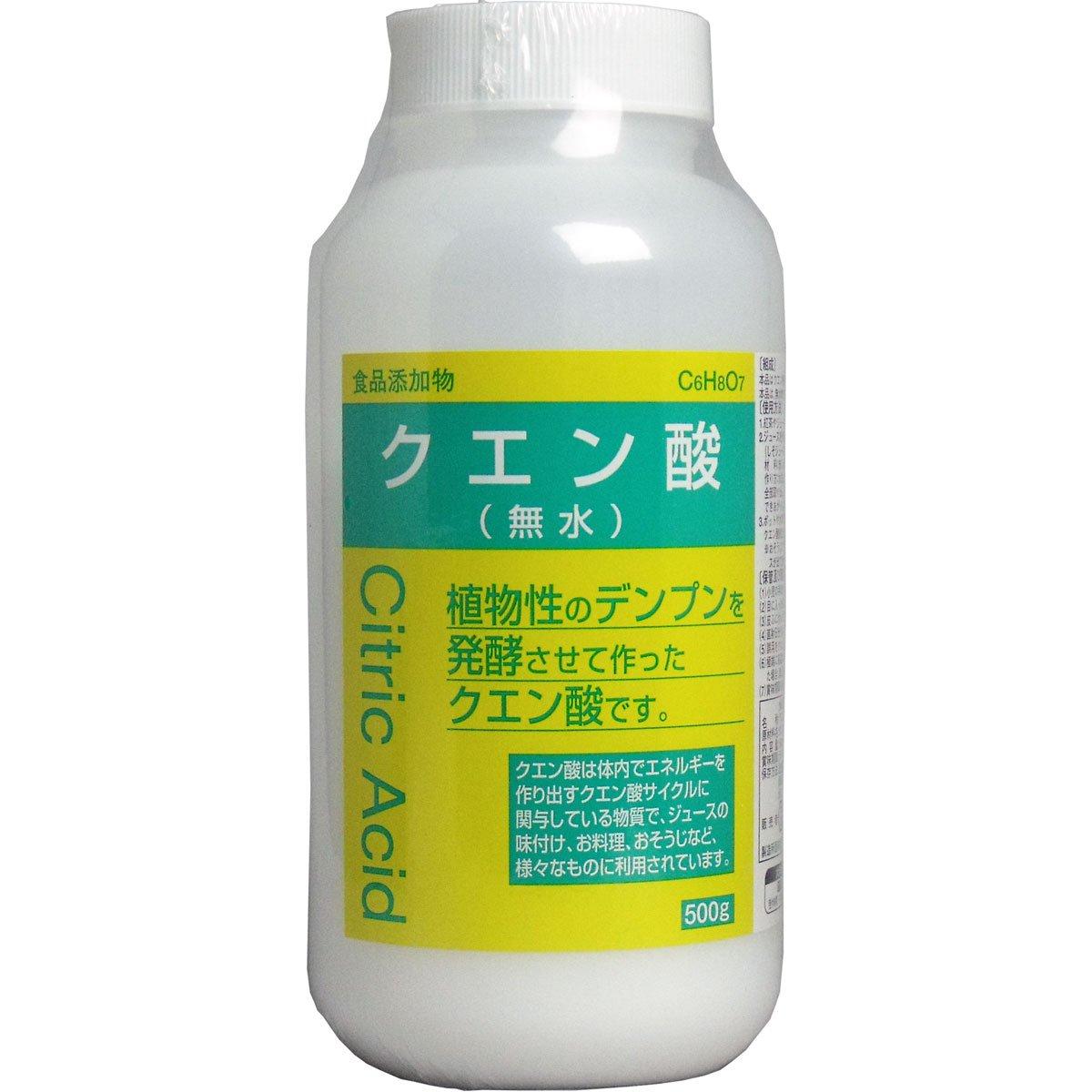 大洋製薬 食添クエン酸 500g B0030LC0RW 1個  1個