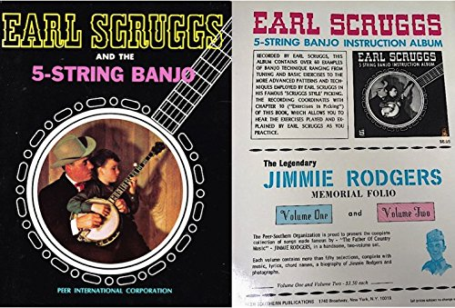 Earl Scruggs and the five-string Banjo, etc. [By Earl Scruggs, assisted by Billy Keith and Burt Brent. With portraits.]
