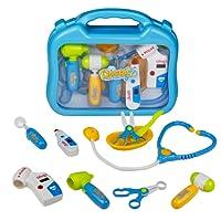 Malette de Docteur jeu de Médecin Mallette de Transport pour Garçon et Fille