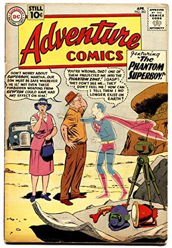 - Adventure Comics #283 First General Zod-First Phantom Zone nice copy