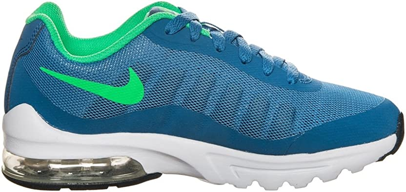 Nike Air MAX Invigor (GS), Zapatillas de Running para Niños, Azul (Azul/(Industrial Blue/Electro Green) 000), 37.5 EU: Amazon.es: Zapatos y complementos