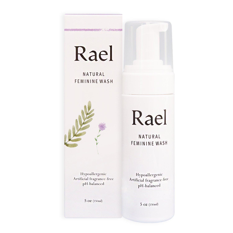 Rael Natural Feminine Cleansing Wash - For Sensitive Skin - Light and Fresh Scent (150 ml ( 5 oz ))