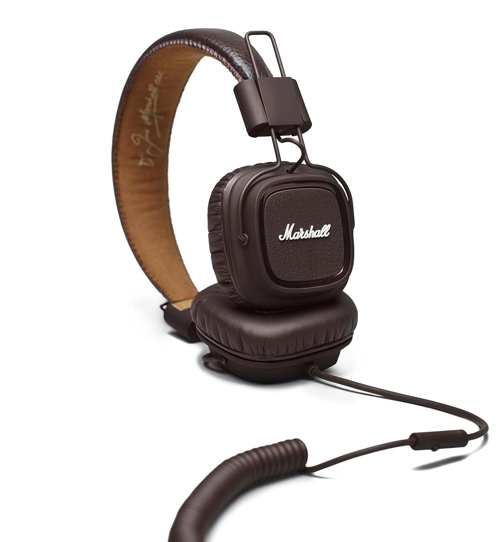 Marshall Major MKII - Brown - Auriculares con micrófono: Amazon.es: Electrónica